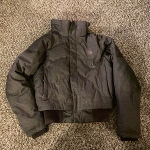 The North Face goose down jacket coat size medium